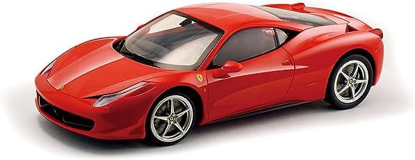 Silverlit  F458 1:16 Scale Ferrari Italia Bluetooth Remote Control Car, Red