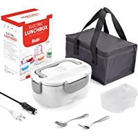 Fede Lunch Box Chauffante Electrique 3 in 1 Gamelle Chauffante 12v 24v 220v Boîte Repas Chauffante pour Accueil Voiture…