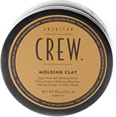 AMERICAN CREW Molding Clay High Hold Medium Shine Hair Shaping Puck For Men 3 Oz/85 grms