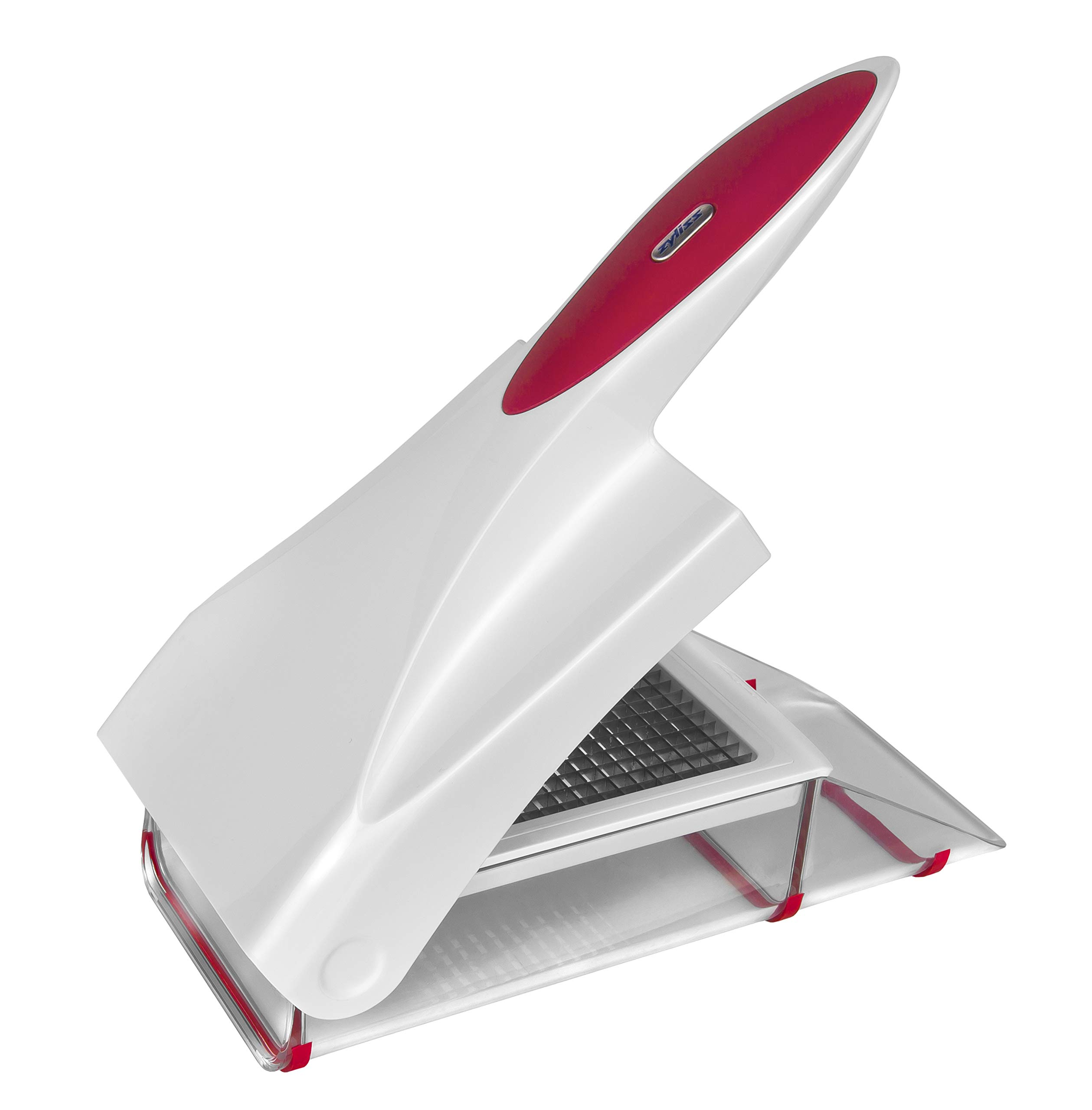 71prO0wobvL - Zyliss Onion Chopper, White and Red