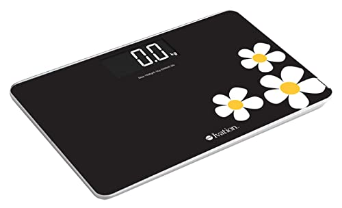 Ivation! Premium Glass Digital Bathroom Scale
