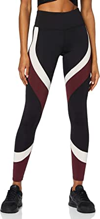 AURIQUE Leggings Sportivi Colour Block Donna