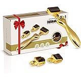 Dermaroller 0.5mm - Anti-Aging en Huidverzorging Derma Roller van hoge kwaliteit - Met Titanium Naalden tegen Acne, Rimpels,