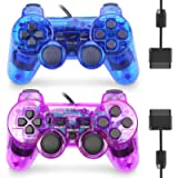 GBCON Wired Controller for PS2 High Performance Double Shock Gamepad Joystick Remote Compatible with Play station 2…