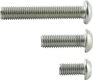 Bundschraube D2D Flachkopfschrauben mit Flansch M8 x 45 mm mit Innensechsrund TX nach ISO 7380-2 aus Edelstahl A2 V2A VPE: 10 St/ück