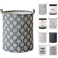 Devlop Panier à linge en tissu pliable avec grande capacité pour couettes, oreillers, draps, couvertures et vêtements…