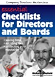Essential Checklists for Directors and Boards: Helping you save time, avoid risk and protect your reputation (Company…