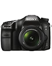 Sony Alpha A68K 24.2 MP Digital SLR Camera (Black) with 18-55 mm Lens (ILCA-68K) Free(sony Bag,Model Number MII-SC5)