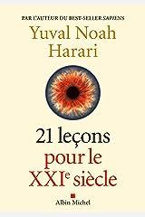 21 Leçons pour le XXIème siècle (French Edition) Kindle Edition