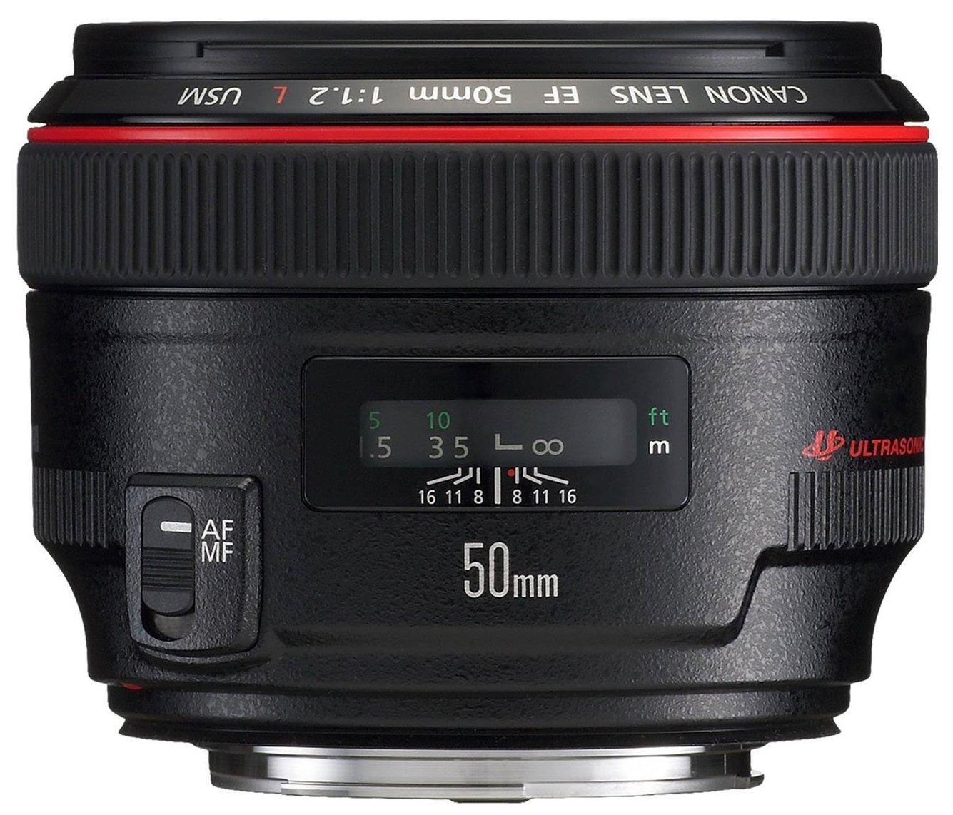 Canon Obiettivo, EF 50 mm 1.2L USM, Versione Standard