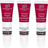 Neutrogena Noorse formule Intense Repair lippenbalsem – 3-pack