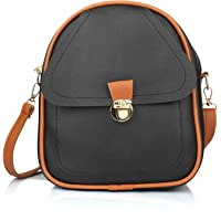 Girls PU Leather Backpack sling for Women