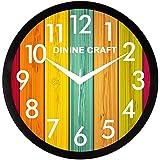 Mishty Wall Clocks for Living Room/Bedroom/Office (Multicolor) (7 no) (OL-D7EQ-MHID) (7 no)