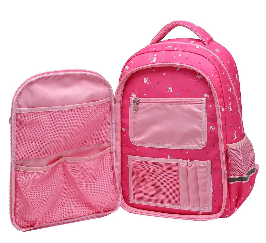 71pwJ49MNiL - SellerFun UKXB106 - Mochila Infantil Niños, 22 L Style B Rose (Rojo) - UKXB426A1