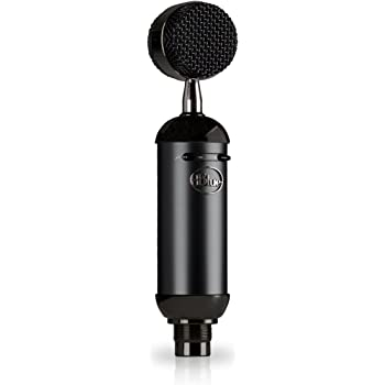Blue Microphones Spark Blackout SL XLR Condenser Mic for Pro Recording and Streaming