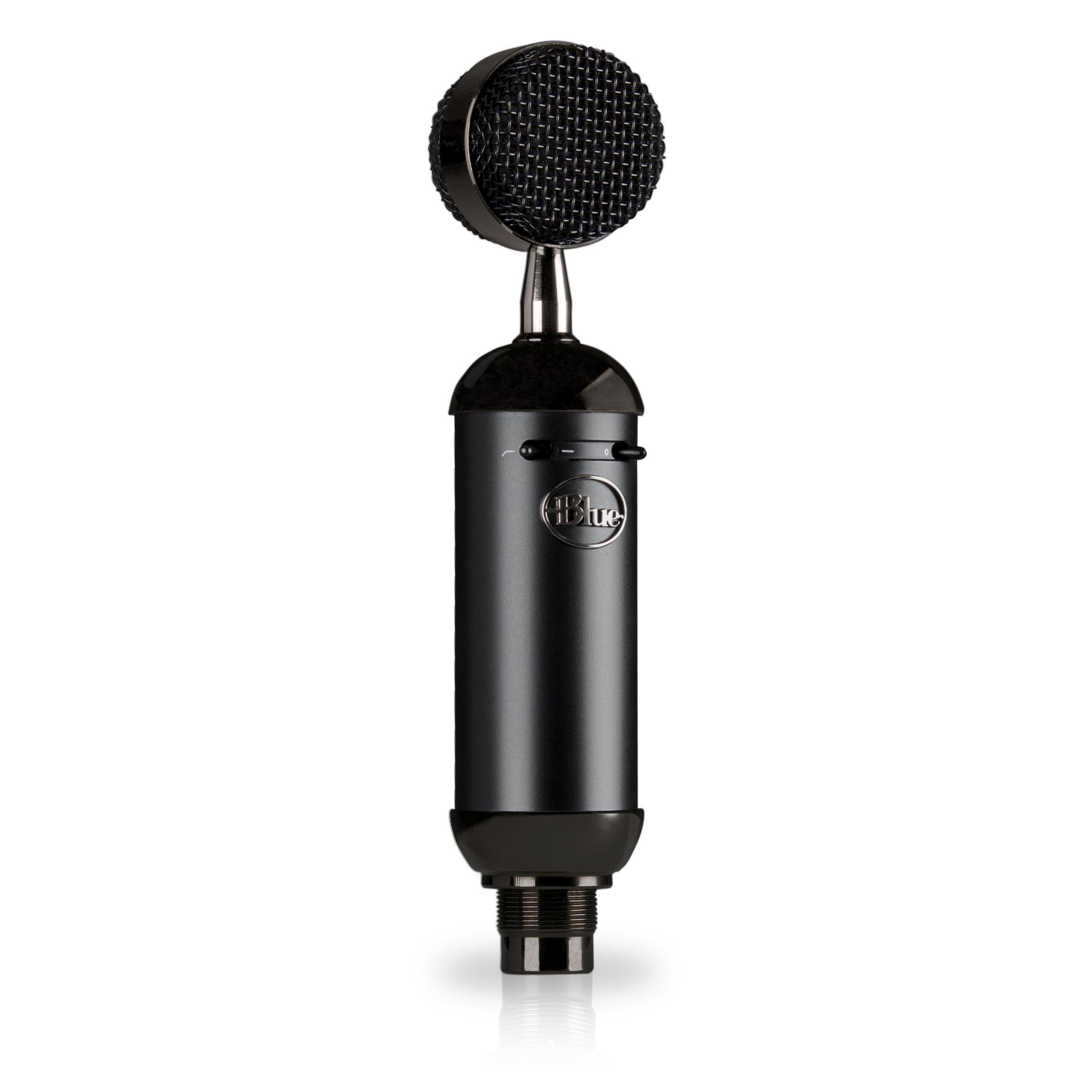 Blue Spark Blackout SL Micro Électrostatique XLR Pour L'Enregistrement Et Le Streaming Pros