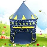 AYSIS Hut Type Kids Toys Jumbo Size Play Tent House for Boys and Girls (Baby Toys) (Navyblue)