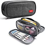 Grote Etui met grote capaciteit Pennenhouder 3 compartimenten Schoolbenodigdheden Briefpapier Make-up tas Geschenk voor midde