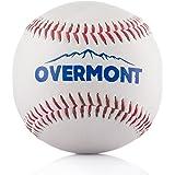 Overmont Balle de Baseball Balle de Softball Couture à la Main pour pratiquer l'exercise