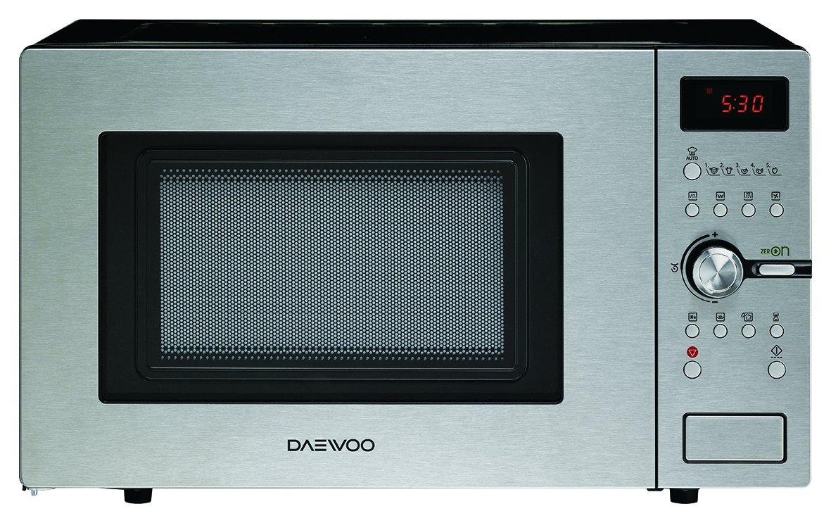 Daewoo KOC-9Q5T – Microondas digital convección y grill, 900 W, 28 L, INOX