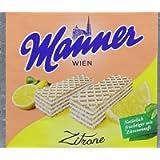 Manner Lemon Wafers75 g (Pack of 12)