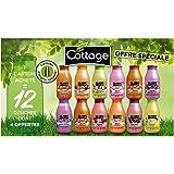 Cottage Offre Spéciale Douches Lait Hydratantes 250 ml + Gommage 270 ml - Lot de 12