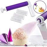 Aerógrafo manual para decoración de pasteles, cupcakes y postres, bricolaje para repostería, herramientas de horneado, pistol