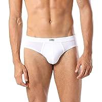 Liabel® 6 Slip Uomo 100% Cotone Mutande Uomo Bianche Colorate Intimo Uomo