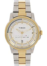 Timex Analog Silver Dial Men's Watch TWEG17204