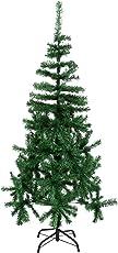 Chirde 150 cm Künstlicher Weihnachtsbaum Tannenbaum Christbaum Inklusive Metallständer Weihnachtsdeko grün