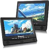 """NAVISKAUTO 2 10,1"""" Tragbar DVD Player für Auto Kopfstütze Monitor 1024 * 600 HD DVD Player 5 Stdn. Spielzeit USB/SD/AV IN/Out 12V"""