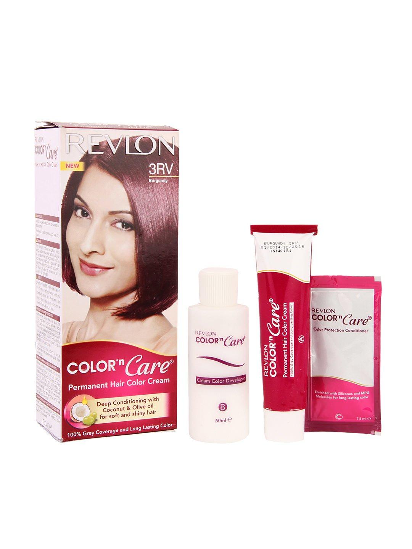 Buy Revlon Color N Care Permanent Hair Color Cream, Brown Black 2N ...