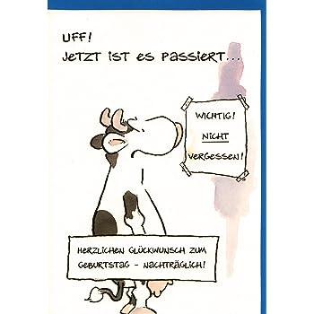 Twizler Humorvolle Karte Mit Neidischer Kuh Blanko Karte