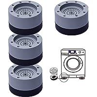 Pied Machine a Laver Anti Bruit, 4PCS Tampons À Pied Machine À Laver, Patin Anti Vibration Lave Linge Antidérapants et…