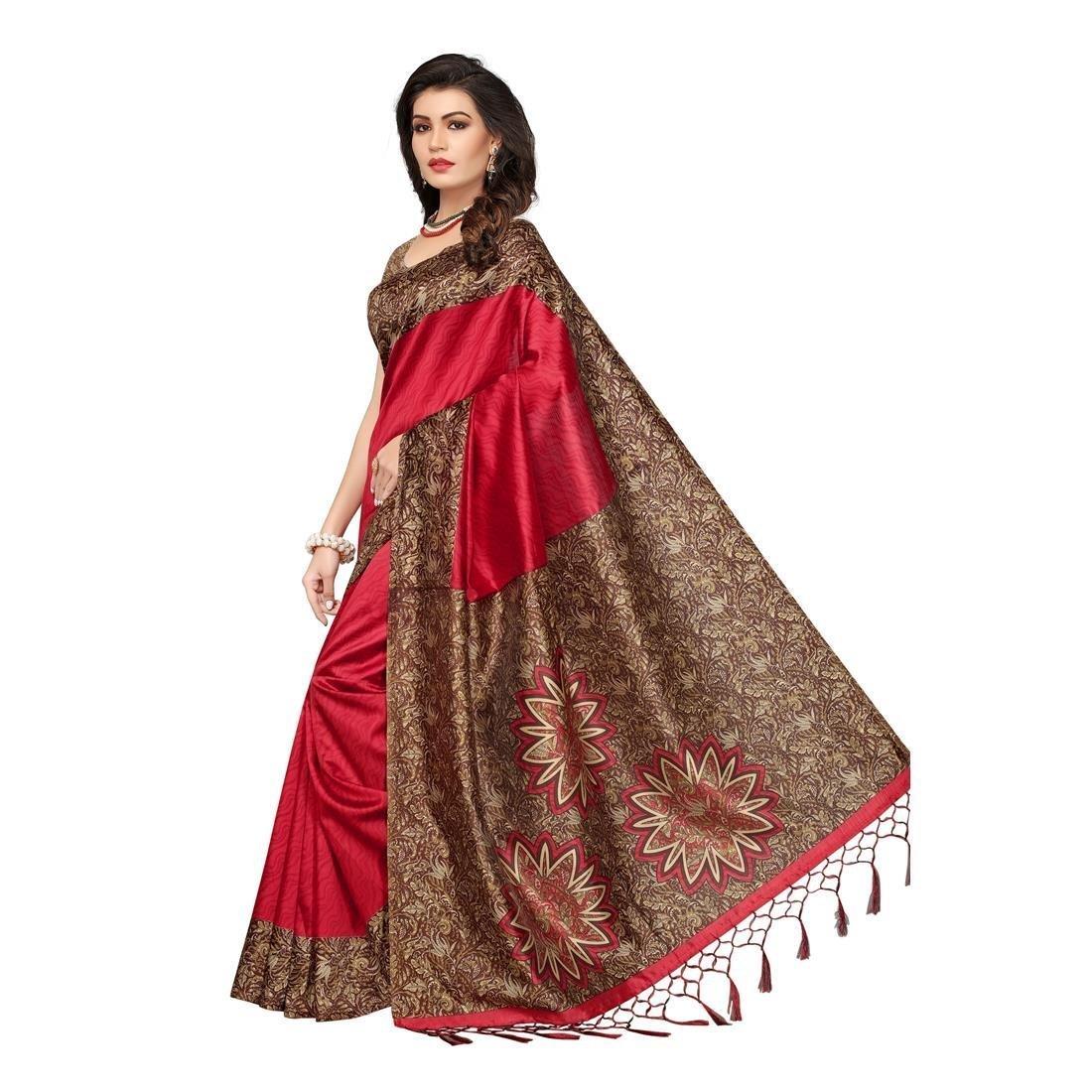 01b8d9319 Home   Clothing and Accessories   Women   Ethnic Wear   Sarees   Silk Saree    Indira Designer Women s Art Mysore ...