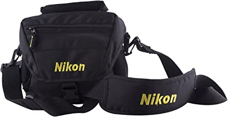 Nikon Dslr Shoulder Camera Bag- Black
