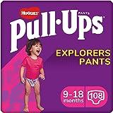 Huggies Pants Pull-Ups Niña Talla 9-18 meses, 8-12 Kg, 36 unidades