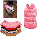 Rantow Autunno Inverno Cane di Cane da Compagnia, Caldo Cappotto, 7 Colori Pet Classico Outwear Giù Giacca per Teddy…