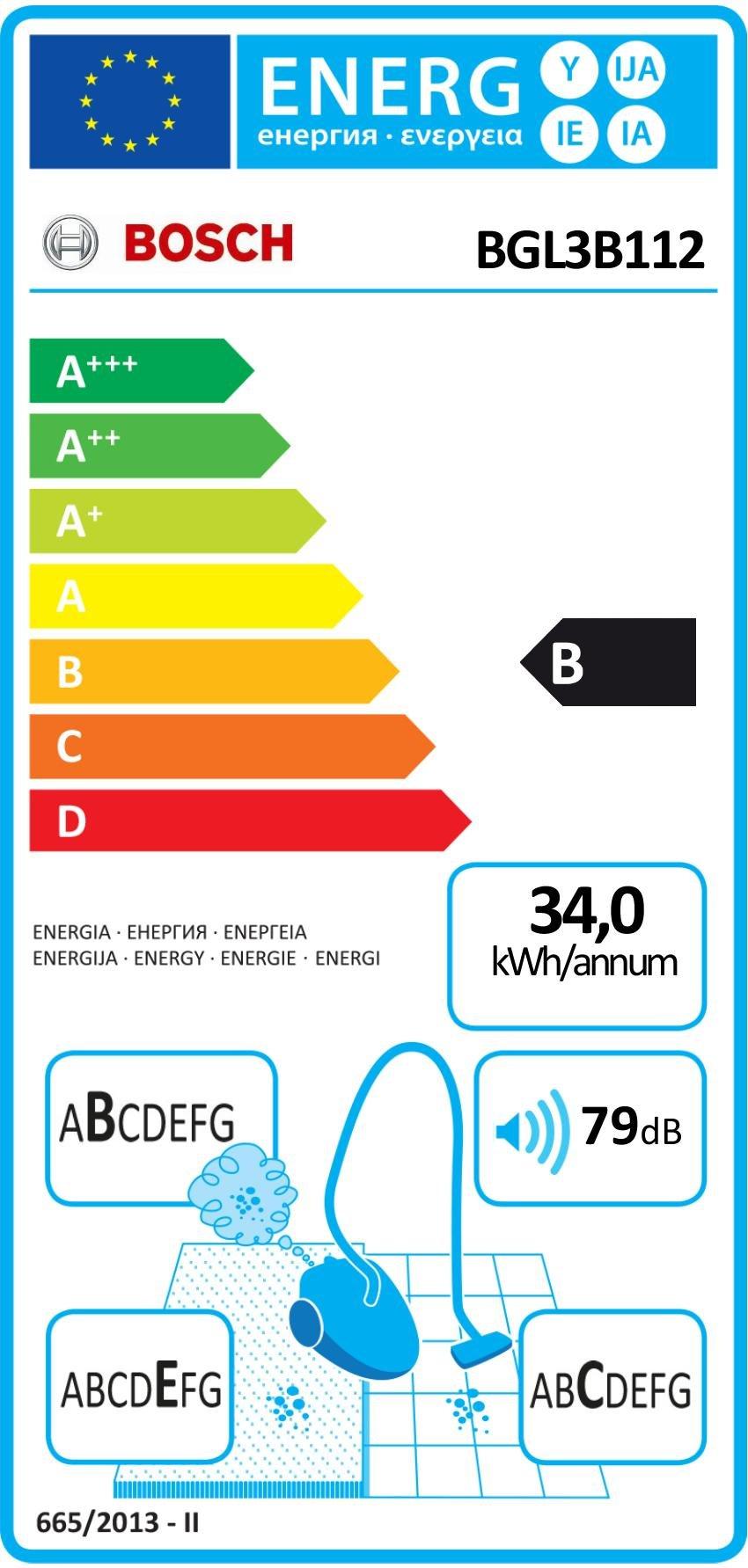 Bosch Bodenstaubsauger GL-30 (EEK B mit Beutel, gründliche Reinigungsleistung, PowerProtect System)