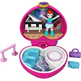 Polly Pocket FWN41 - Tiny Places Schatulle Lilas Ballettaufführung