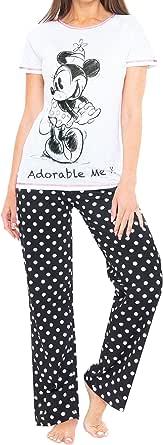 Disney Womens Minnie Mouse Pyjamas