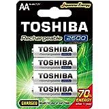 Toshiba Rechargeable AA 2600mAh - 4Pcs