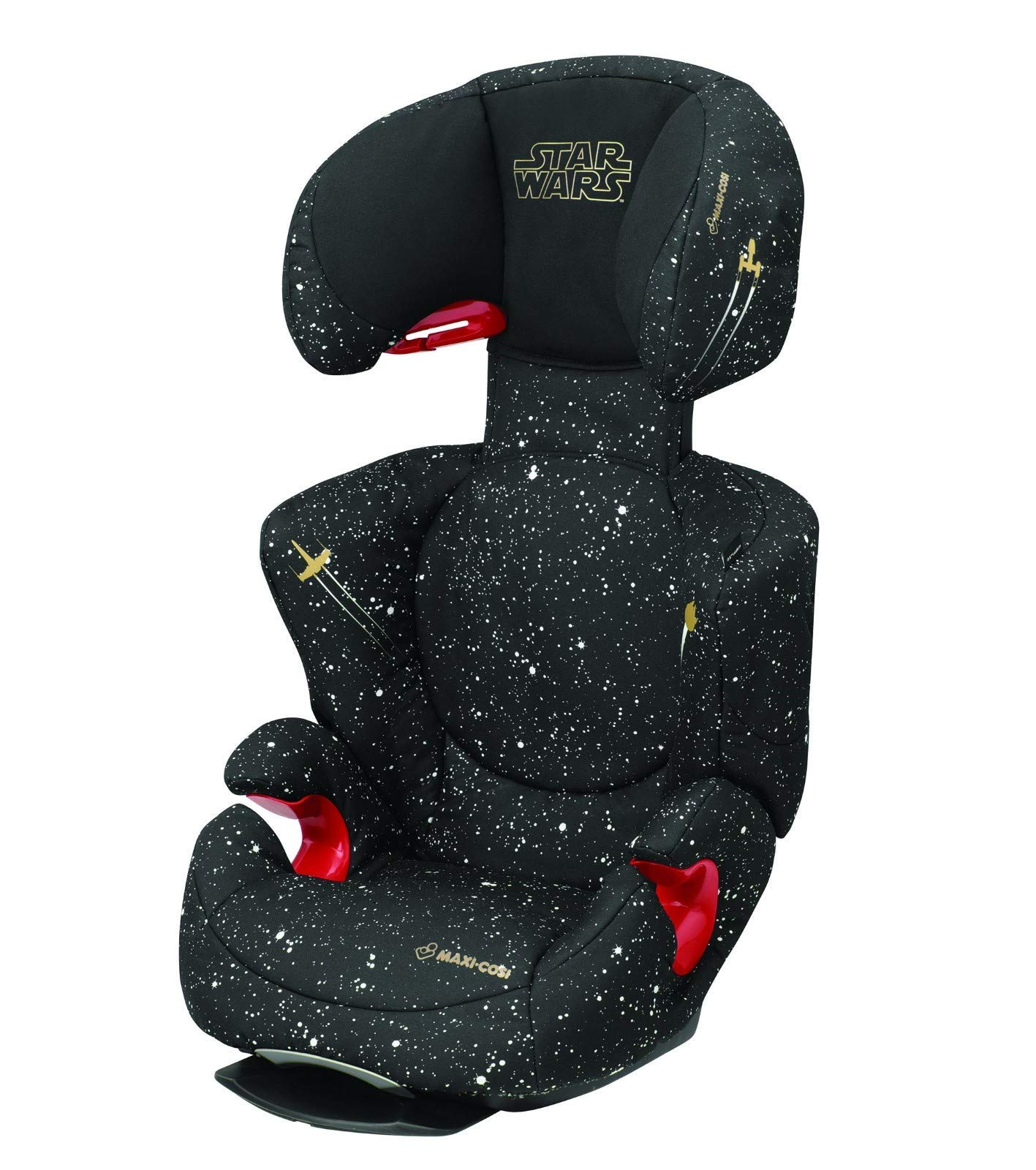 Maxi-Cosi Rodi AirProtect Child Car Seat, Lightweight Highback Booster, 3.5-12 Years, 15-36 kg, Star Wars Maxi-Cosi Child car seat, suitable from 3.5 to 12 years (15-36 kg) Easily install this safe car seat with a three point seat belt and attach the anchorage point in the head rest through your cars head rest Patented AirProtect technology in headrest reduces the risk of head and neck injuries up to 20 percent 2