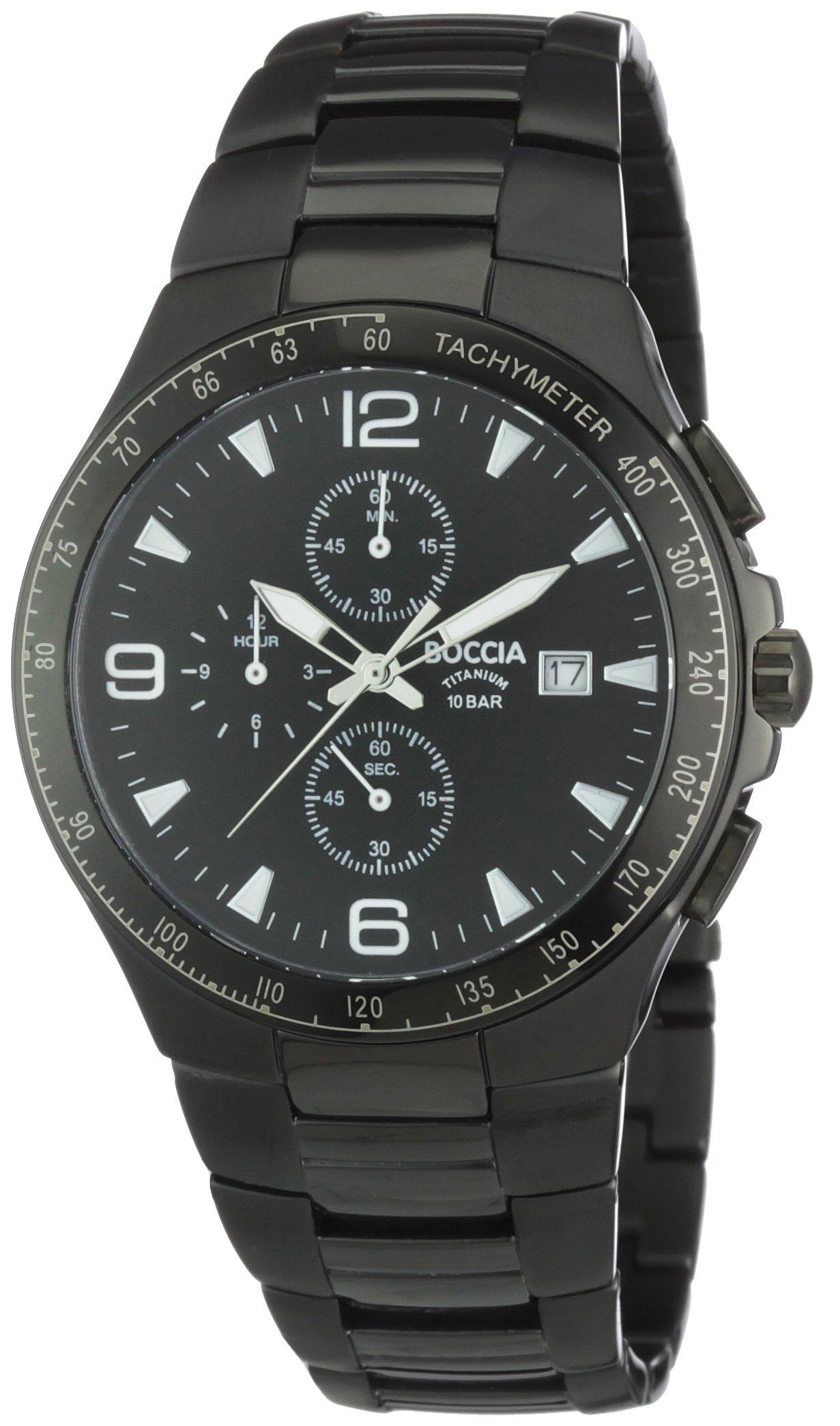 Boccia Herren-Armbanduhr Titan Sport 3773-03