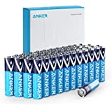 Anker Alkaline AAA Batteries (48-Pack), Long-Lasting & Leak-Proof with PowerLock Technology, High Capacity Triple A Batteries