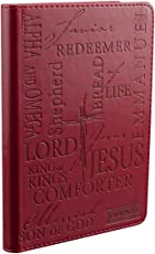 NAMES OF JESUS - BURGUNDY - JOURNAL