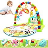 Generic Foot Play Piano Musical Lullaby Baby Activity Playmat Gym Toy Soft Baby Play Mat