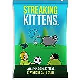 Asmodee - Streaking Kittens, Espansione Gioco di Carte Exploding Kittens, Edizione in Italiano, 8544