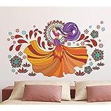 doodad Vinyl Abstract Wall Sticker, 120 x 70 cm, Multicolour