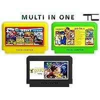2 Multi In ONE 8 Bit Cartridge TV Video Game Cartridge / Cassettes